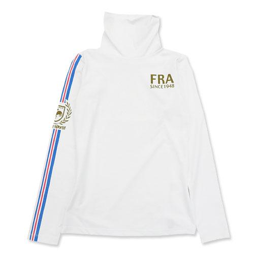 LECOQ GOLF ルコックゴルフ  ハイネックインナーTシャツ  ホワイト系 S