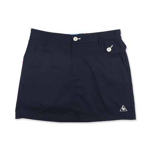 LECOQ GOLF ルコックゴルフ  インナー付スカート ワッペン  ネイビー系 13