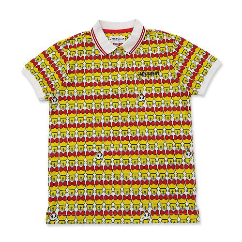 JACK BUNNY ジャックバニー 半袖ポロシャツ ドラミちゃん ドラえもん イエロー系 150