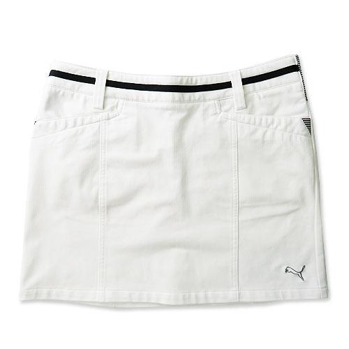 PUMA GOLF プーマ スカート ホワイト系 L