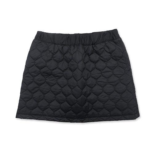 BEAMS GOLF ビームスゴルフ 中綿キルティングスカート ブラック系 L