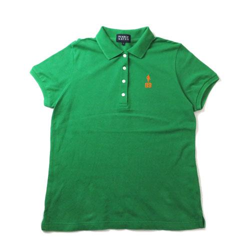 PEARLY GATES パーリーゲイツ 半袖ポロシャツ グリーン 1